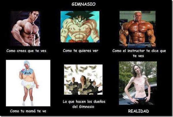 Gym como te ves como te ven_